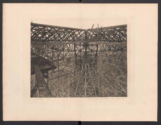 Costruzione-della-Torre-Eiffel,-primo-livello